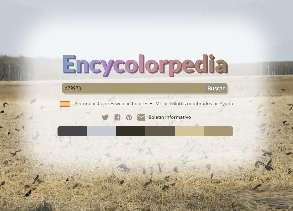 Encycolorpedia - Página de Inicio