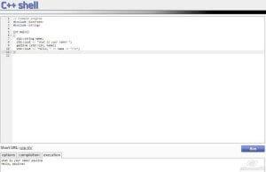 C++ Shell